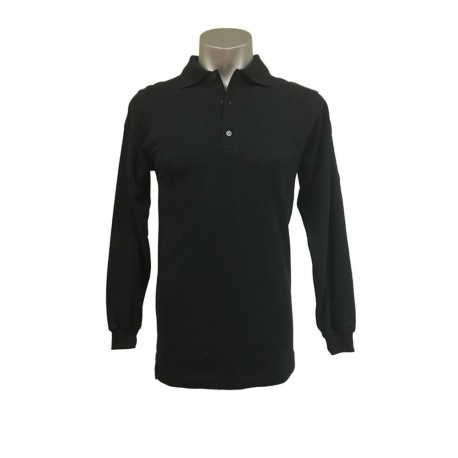 Polo MP® Professional Heavy Strong Long Sleeve Black