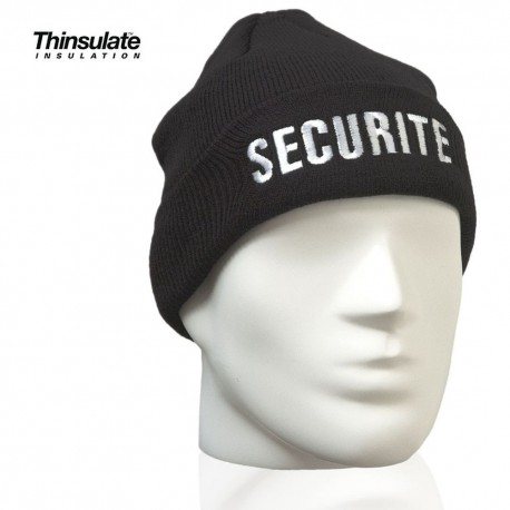 Hat Thinsulate + Logo SECURITE