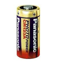 Panasonic® Pile CR123A 3 Volts Lithium