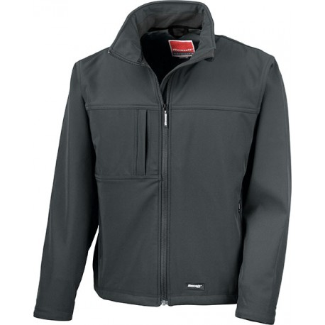 Result® Softshell Jacket Black