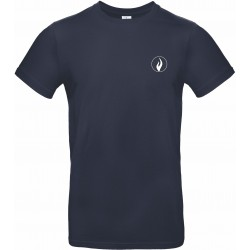 "T-Shirt 190gr Navy Blue ""POLICE"""