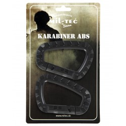2 Carabiners in ABS